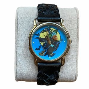 Halloween Witch Thailand Movement Leather Bd Watch